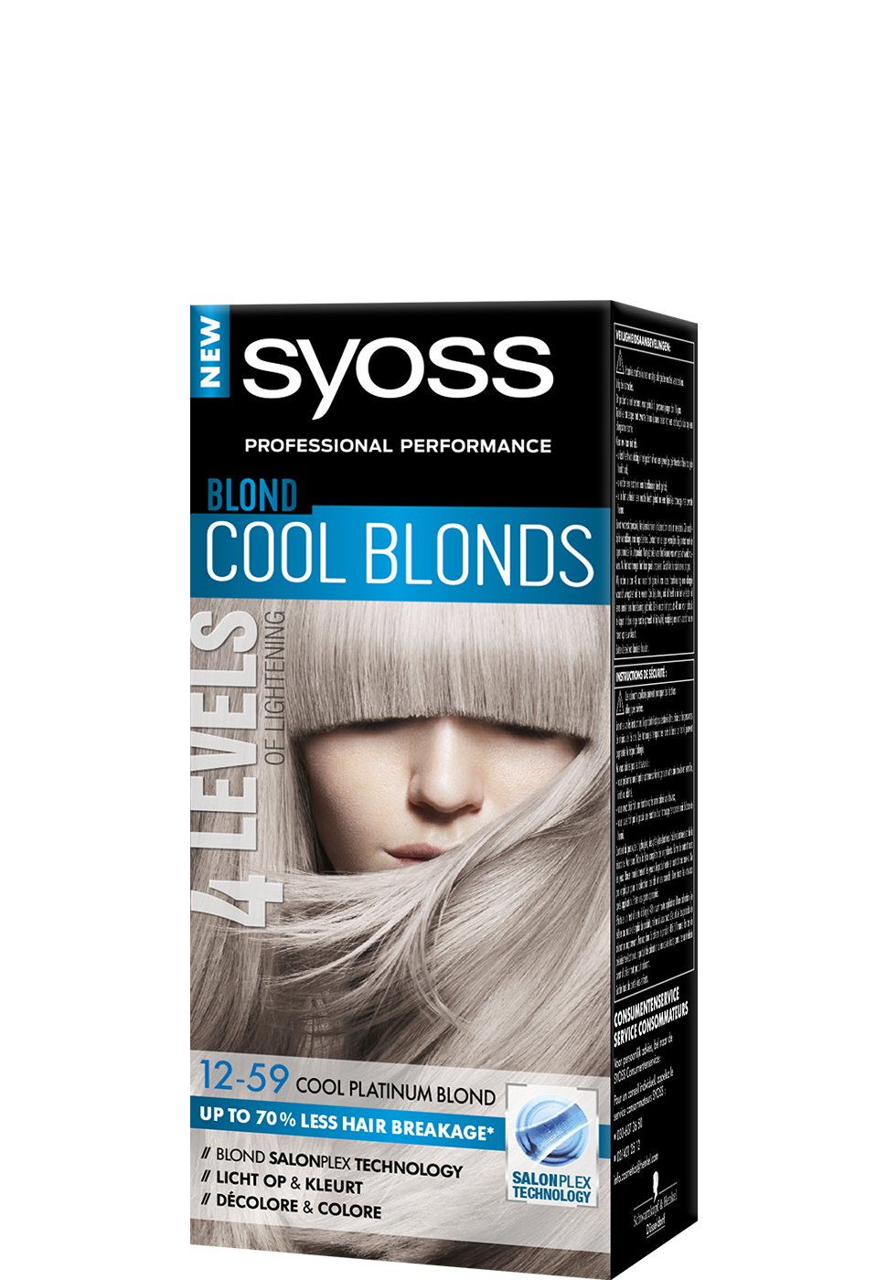 Cool Platinum Blond Box